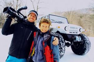 Shaun en Jitske in Rusland