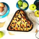 Warm ricottataartje met appel en limoen