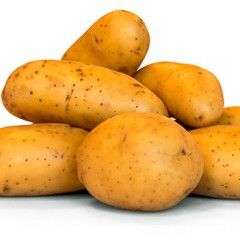 De zoete zoute aardappel