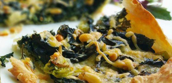 Quiche met (boom)spinazie